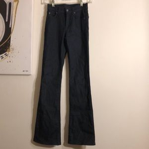 LF Dark Blue Bell Bottom Jeans